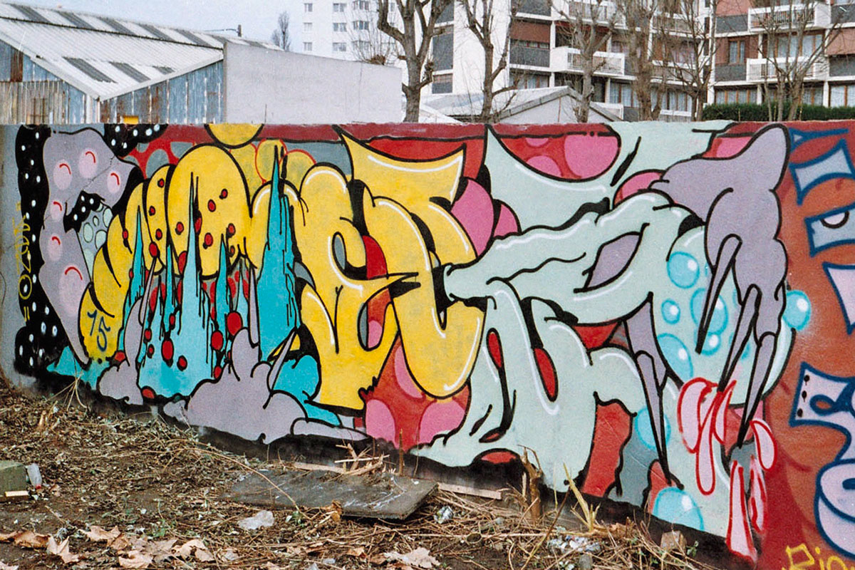 Ilk graffiti Paris