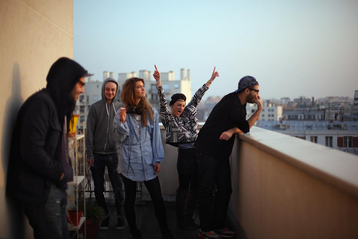 Rooftop-Party
