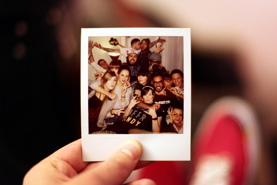 Family polaroid