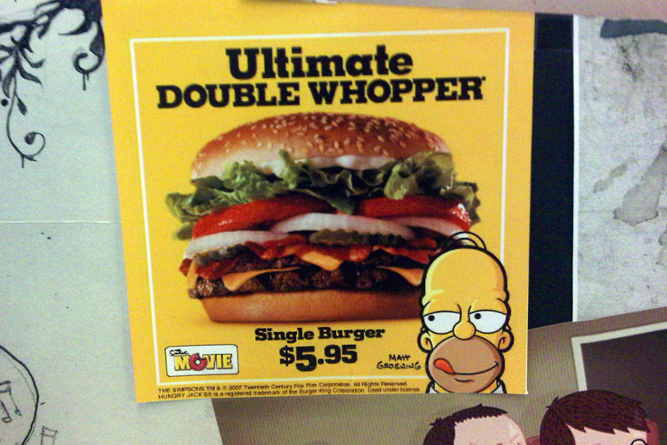 Ultimate double whopper