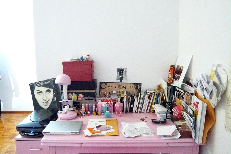 Anouck's apartment