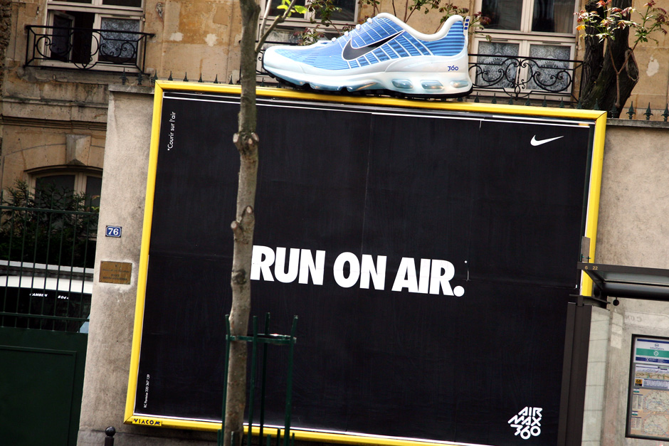 Run on air.