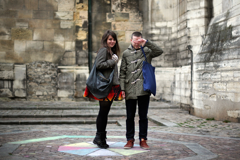 Garth and Coralie in Paris