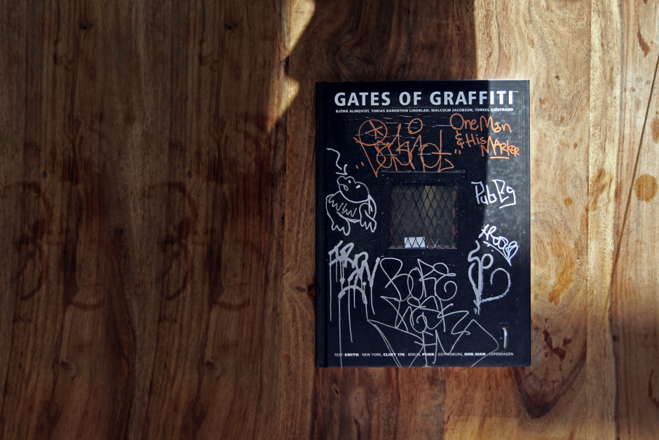 "Book of the week ""Gates of graffiti"""