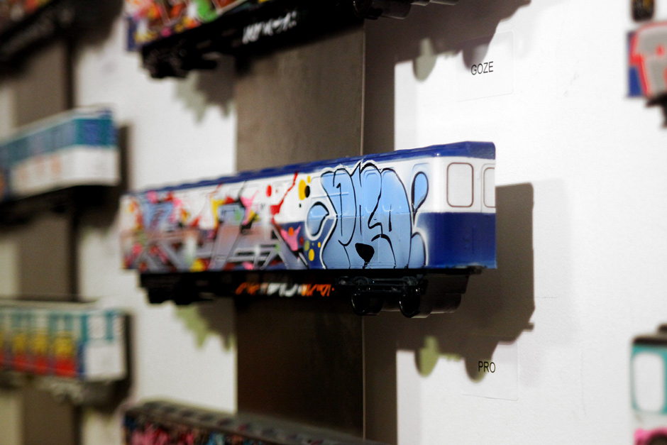 Trains of fame at Galerie Oberkampf