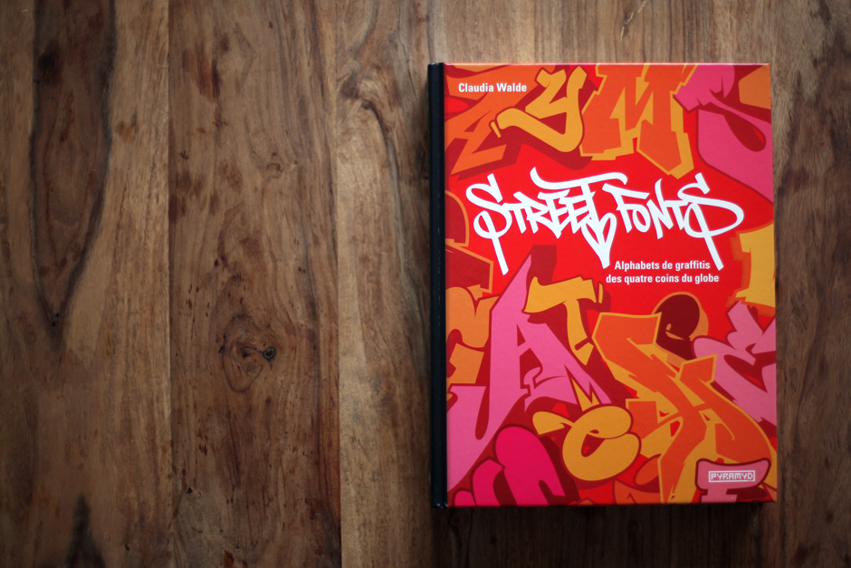 "Book of the week ""Street Fonts"" by MadC"