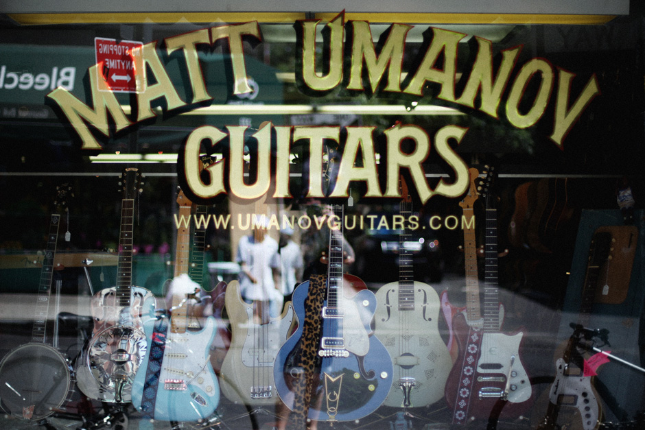 Matt Umanov guitars
