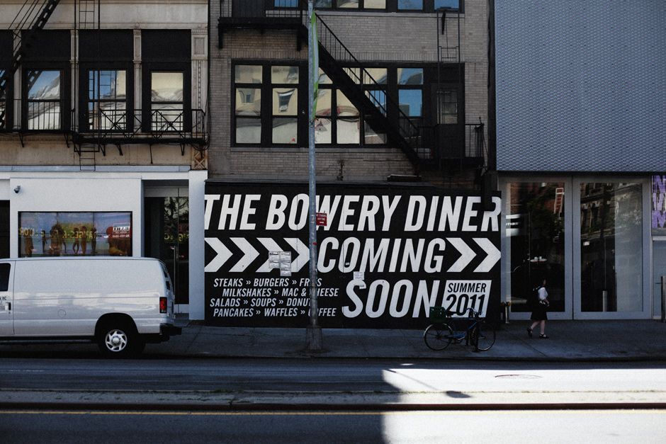 The Bowery diner