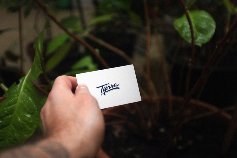 Tyrsa, new business cards