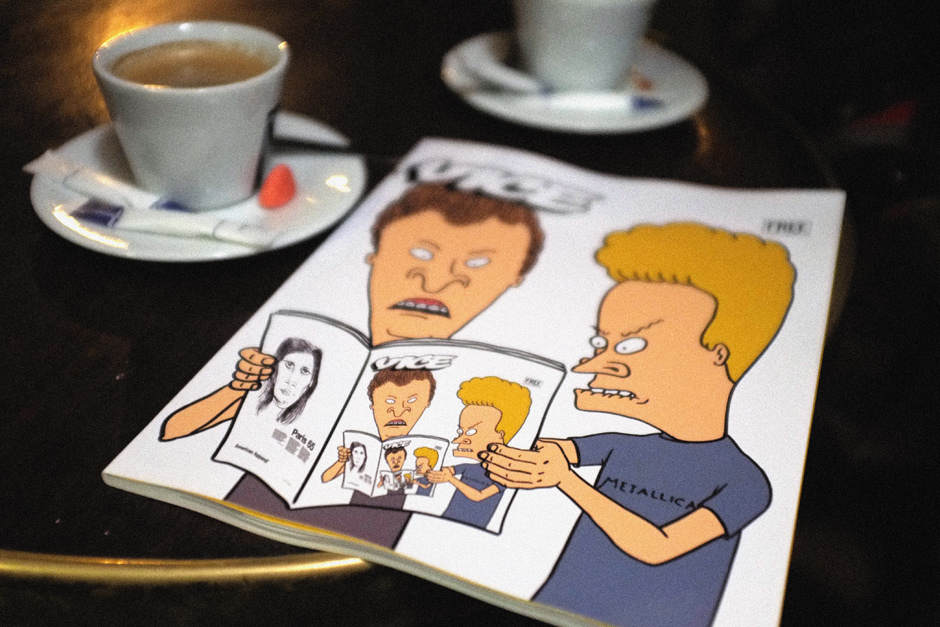 Beavis and Butt-Head x Metallica x Vice
