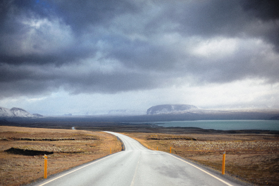 Iceland highway A86