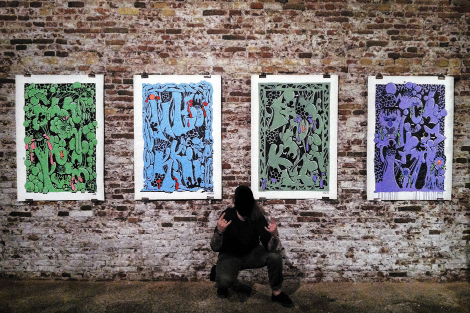 ILK, Headlines exhibition in Venice