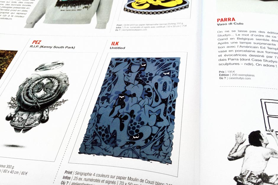 Ilk screenprint in Graffiti Art n°20