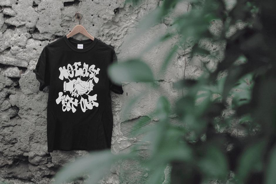 "Ilk & Keno T-shirt ""No easy way out"""