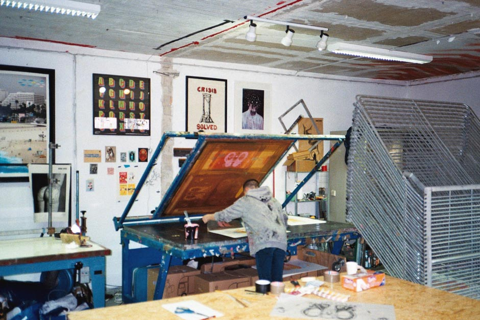 Screenprint studio Berlin