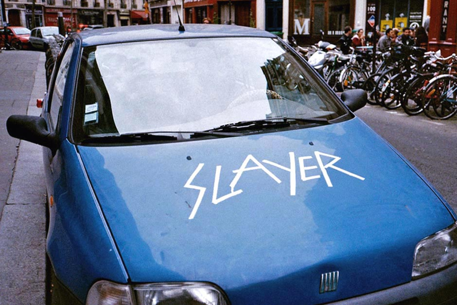 Slayer car in Paris