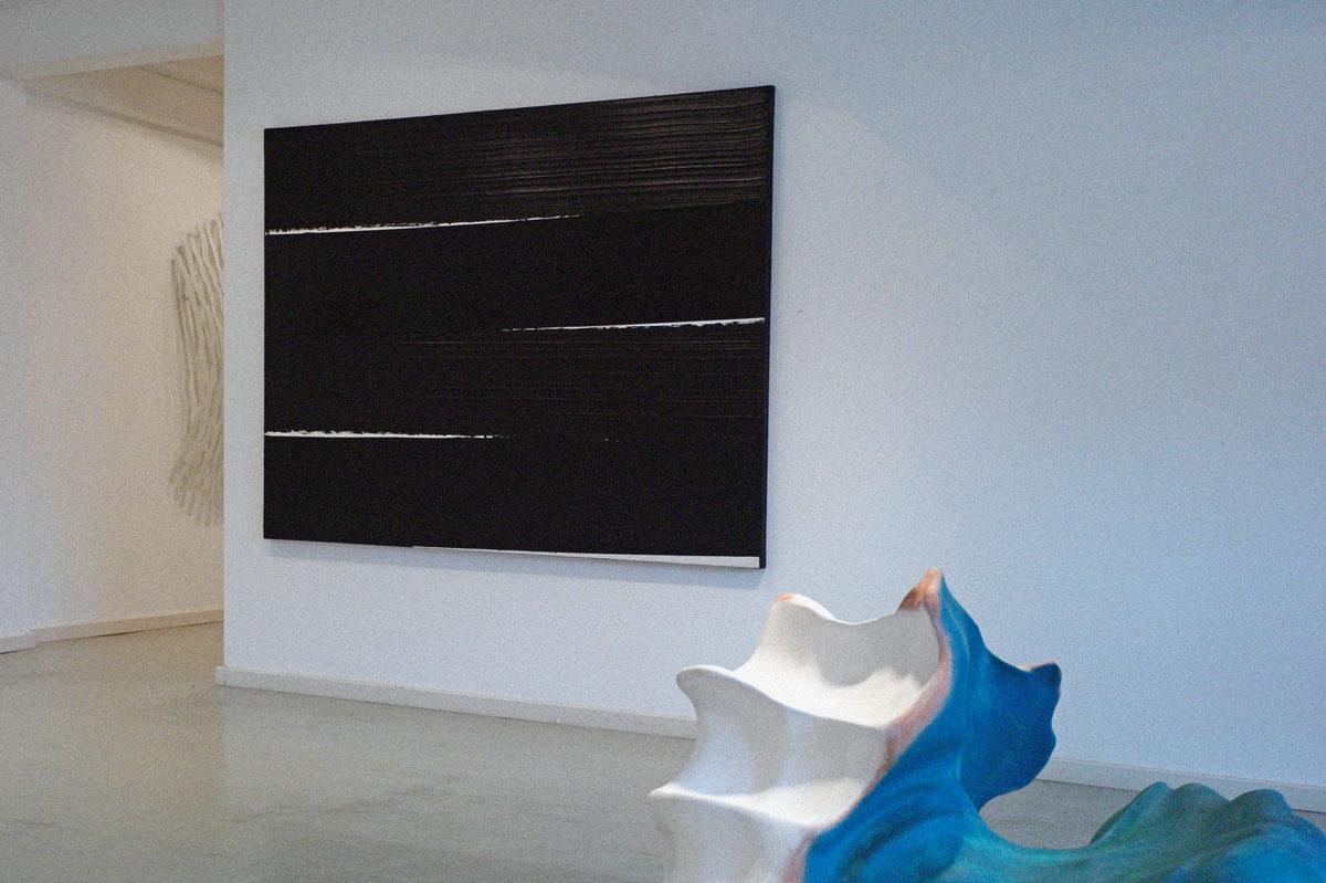Pierre Soulages Lausanne Exhibition