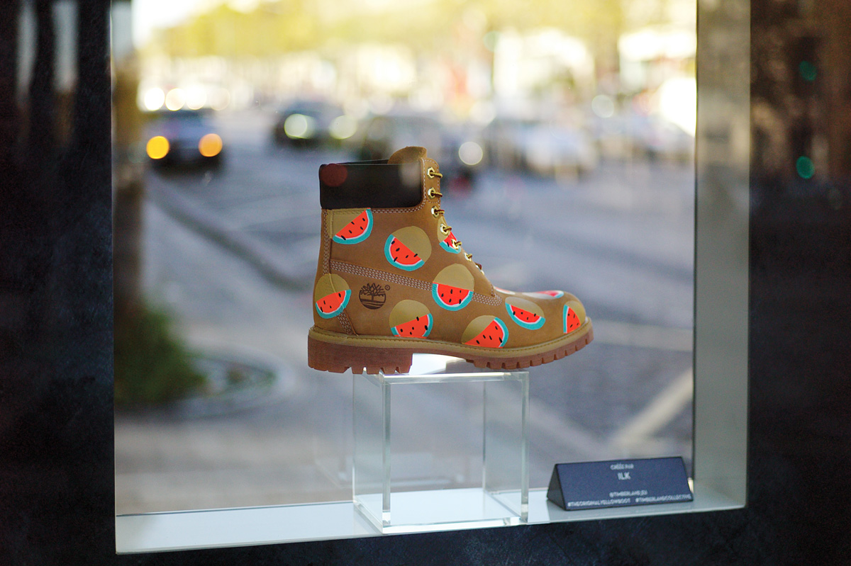 Ilk X Timberland Yellow Boot 1