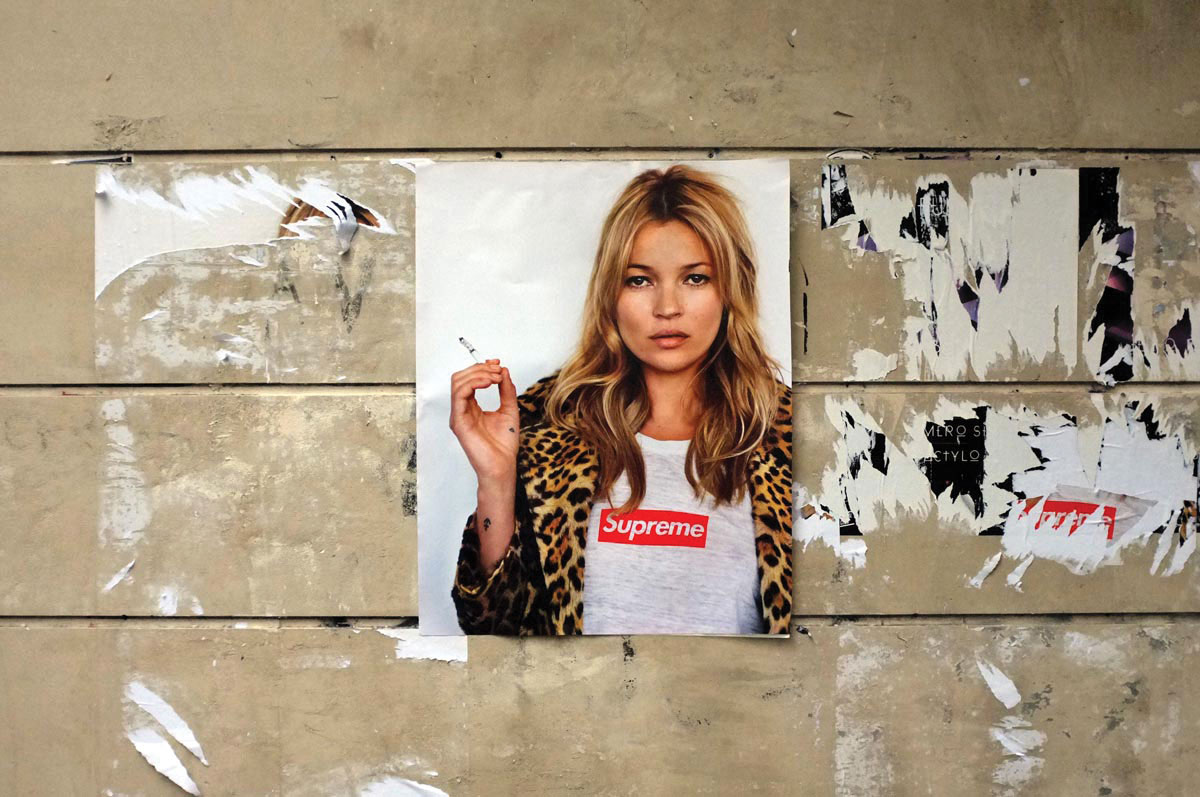 Kate Moss Supreme Ilk