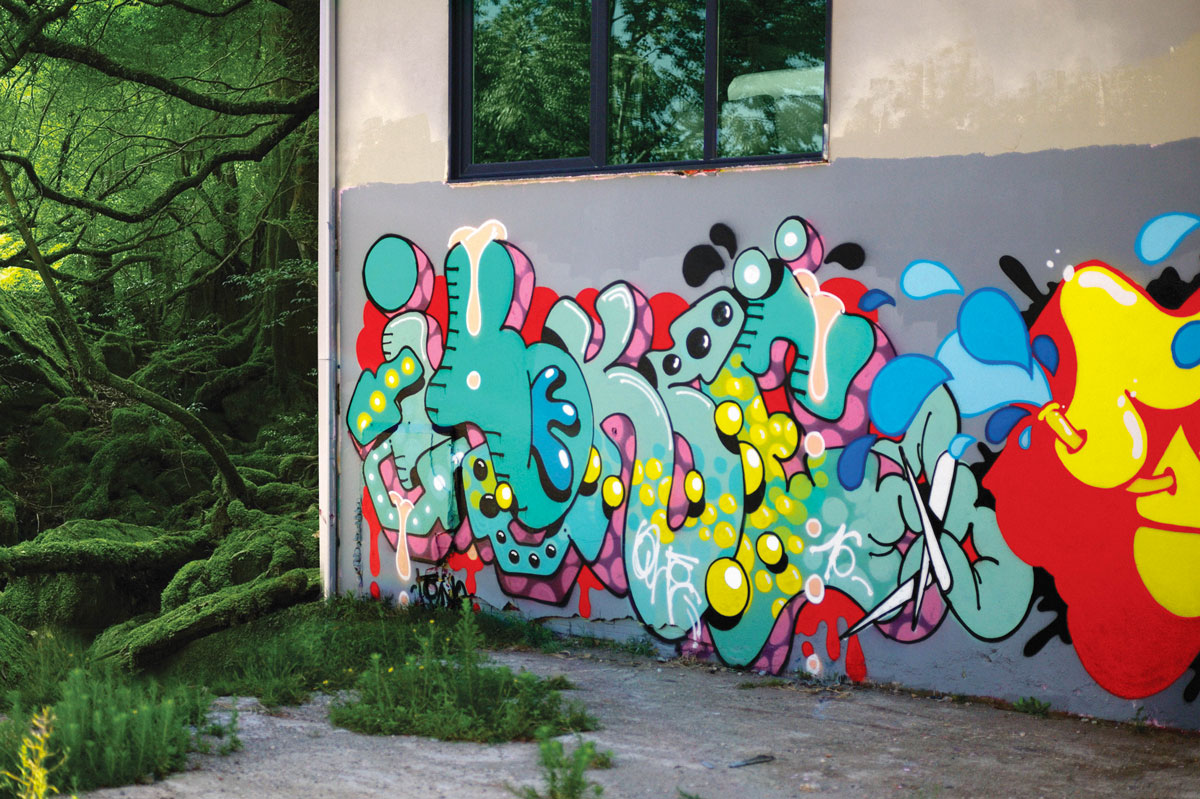 Ilk Graffiti Jungle Toulouse