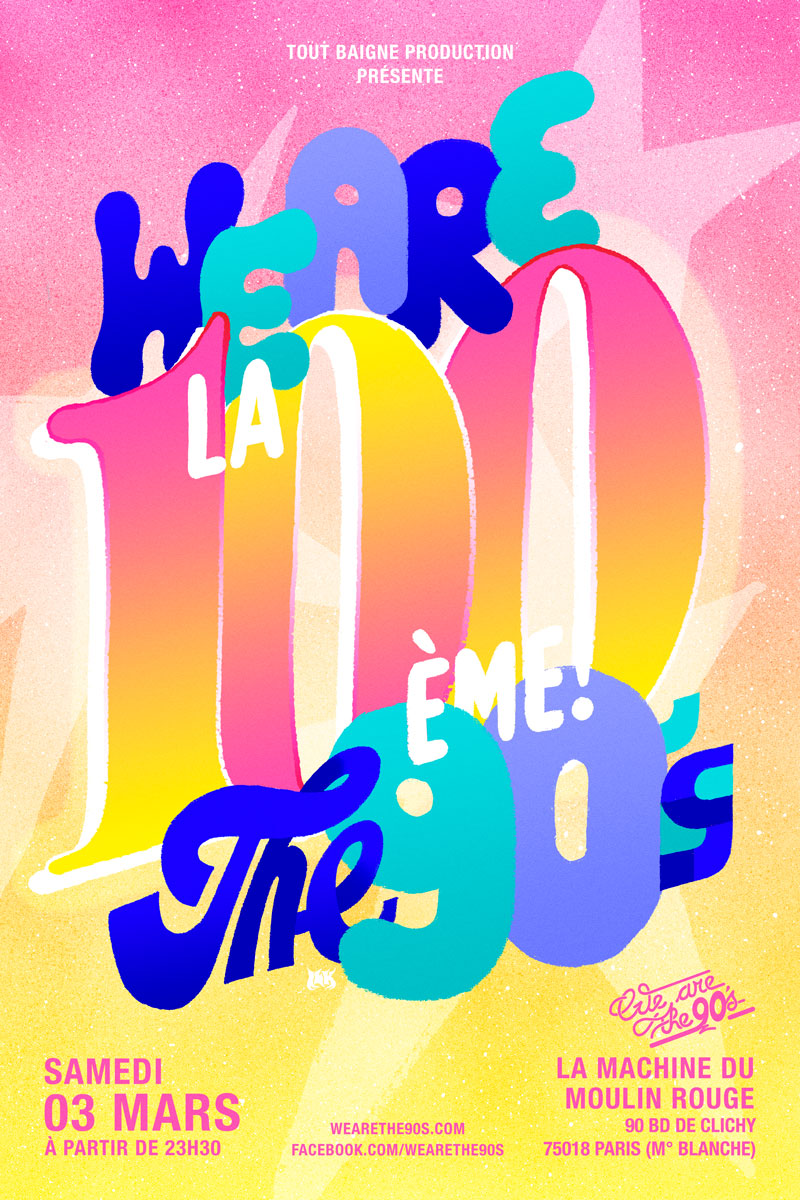 Ilk We Are The 90s La 100 Eme