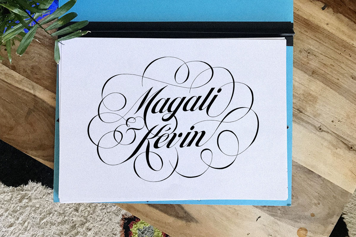 Magali Kevin Logo By Ilk