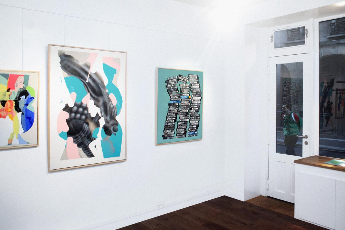 Ilk Born Before Internet Galerie Bomma Installation View