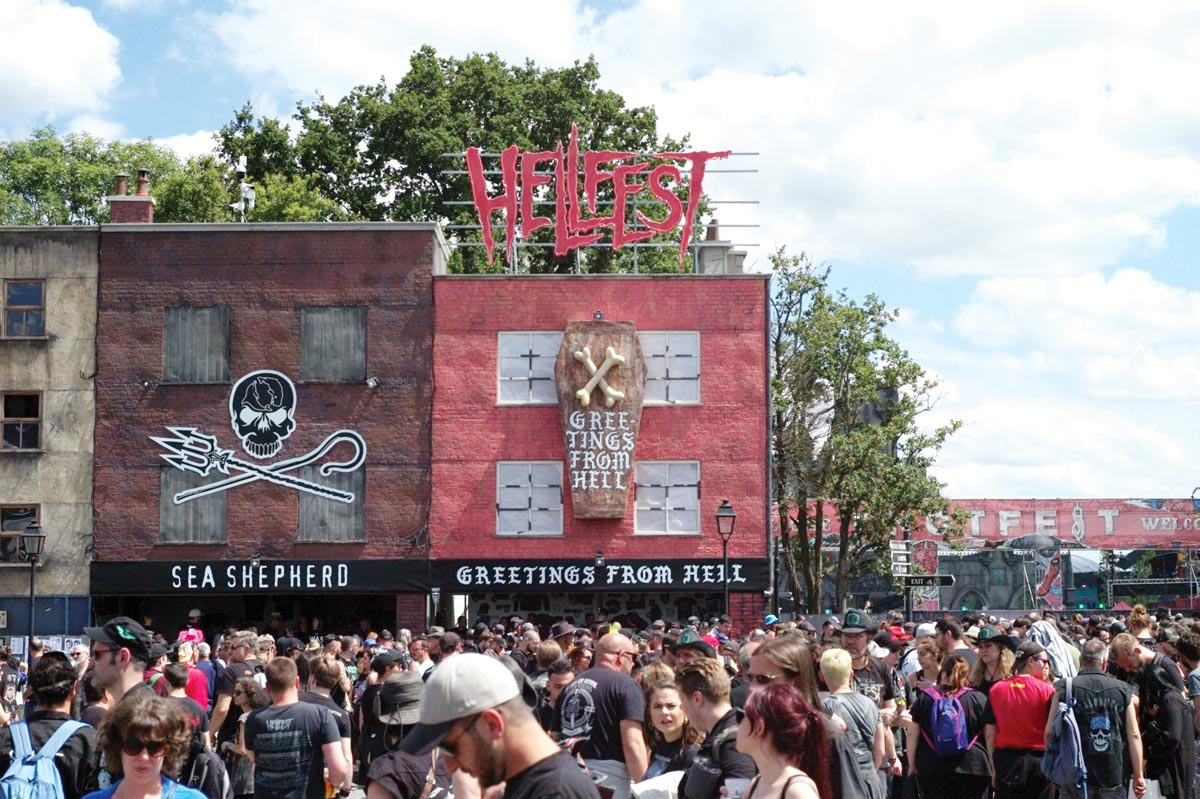 Hellfest Greetings From Hell Ilk Flottante