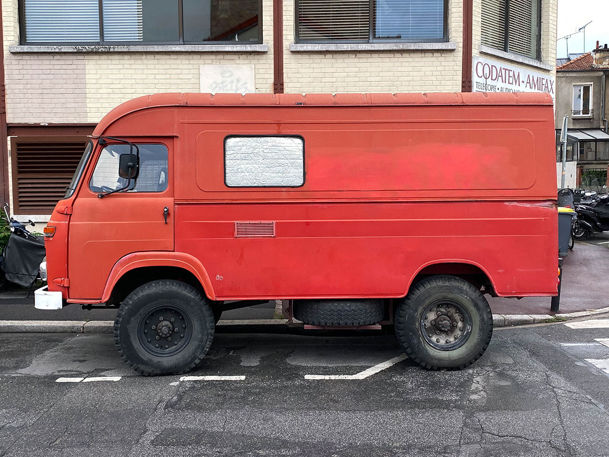 Montreuil Red Truck