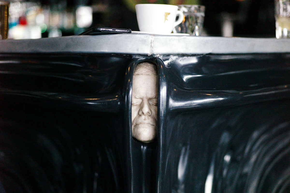 Giger Bar Chur Switzerland Ilk Flottante